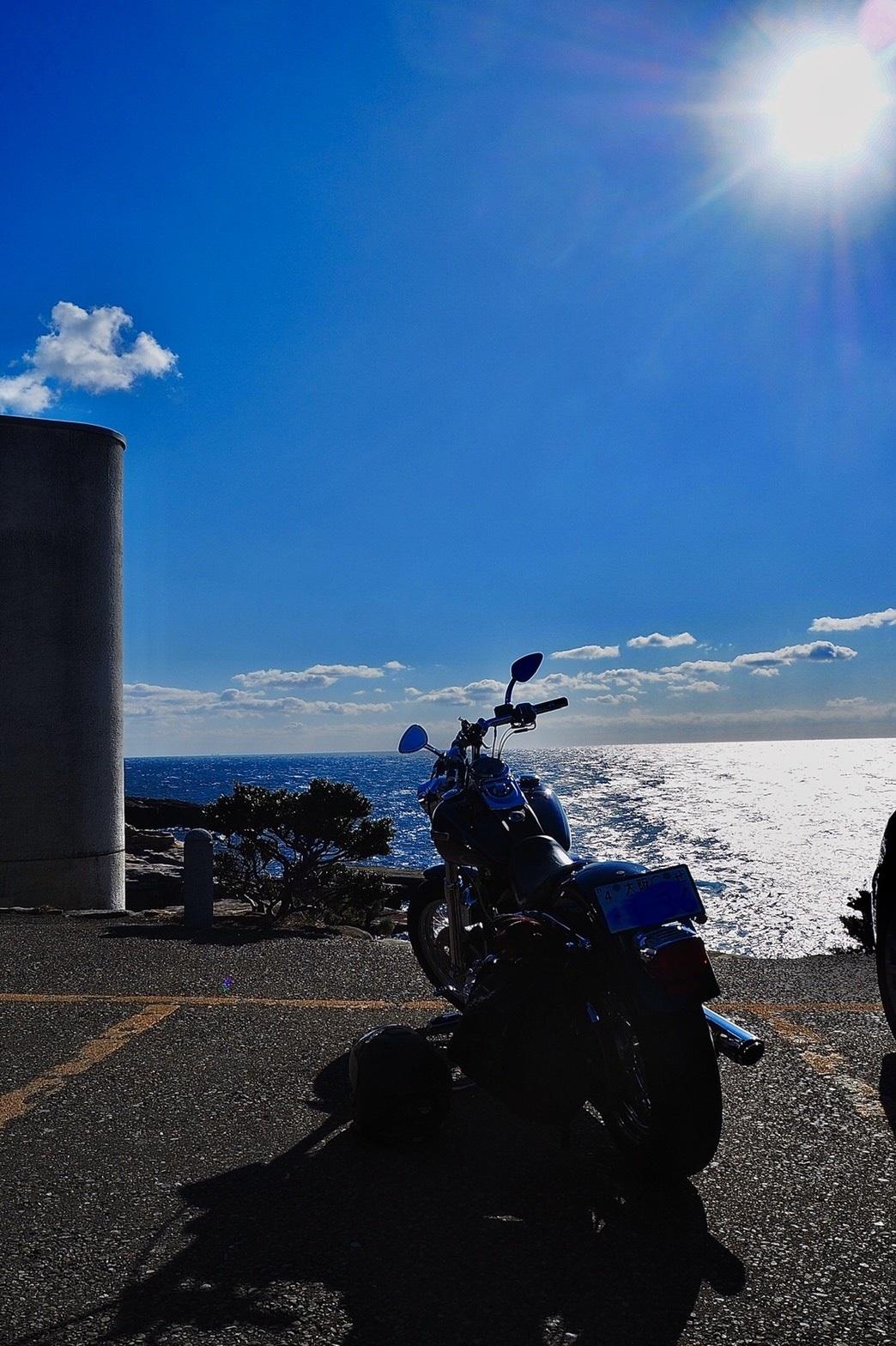 ぴーきち&ダイナ 和歌山南紀白浜ツーリング 千畳敷と青い空