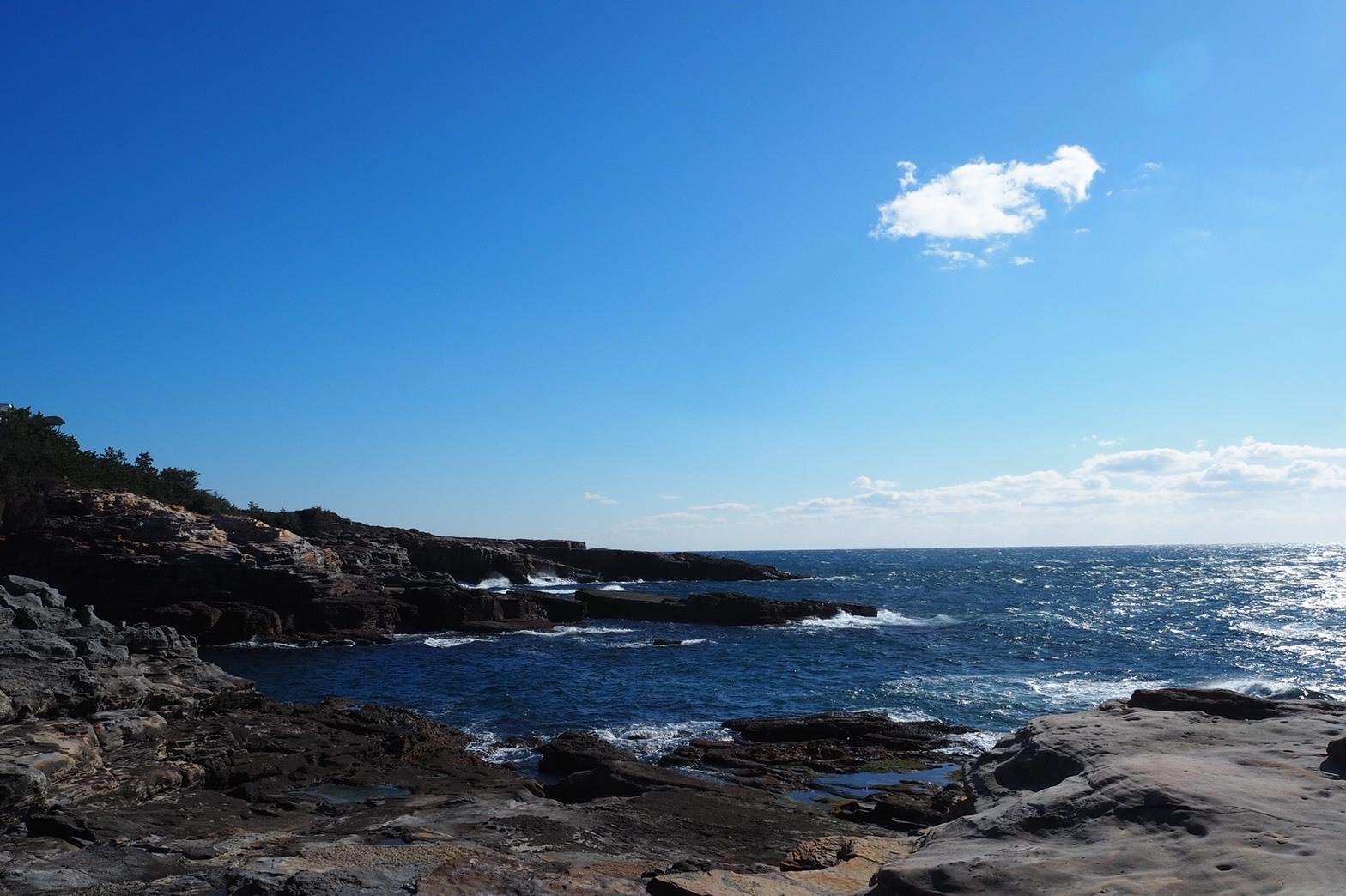 ぴーきち&ダイナ 和歌山南紀白浜ツーリング 千畳敷の美しい景色