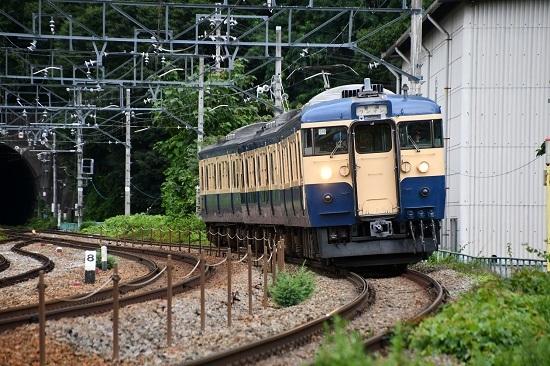 2020年7月18日撮影 しなの鉄道 115系 S16編成 スカ色 2642M