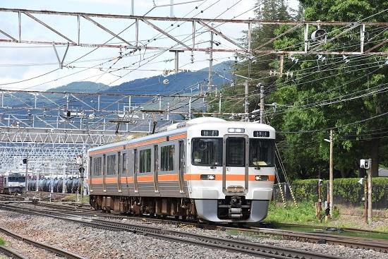 2020年7月12日撮影 南松本にて 1832M 313系