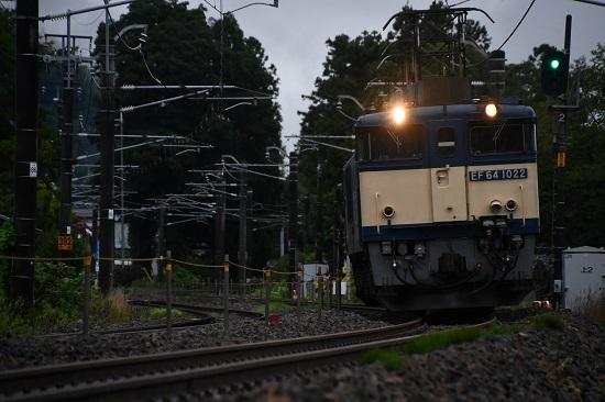 2020年7月18日撮影 篠ノ井線8467レ 田沢-明科 EF64-1022号機