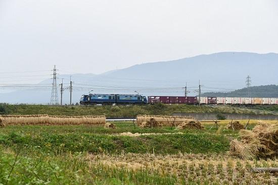 2020年10月3日撮影 東線貨物2083レ EH200-12号機