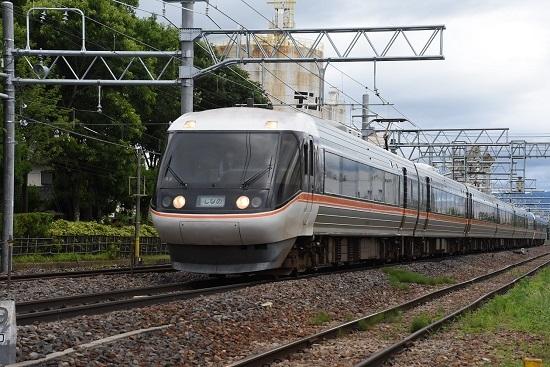 2020年7月12日撮影 南松本にて 1013M 383系 WVしなの13号