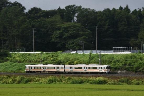 2020年8月23日撮影 飯田線 回送 313系