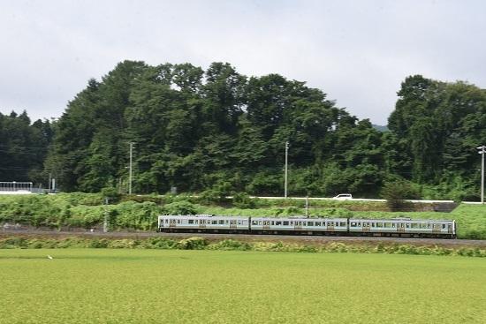 2020年8月23日撮影 飯田線 210M 211系