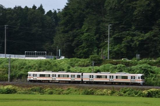 2020年8月23日撮影 飯田線 1415M 313系