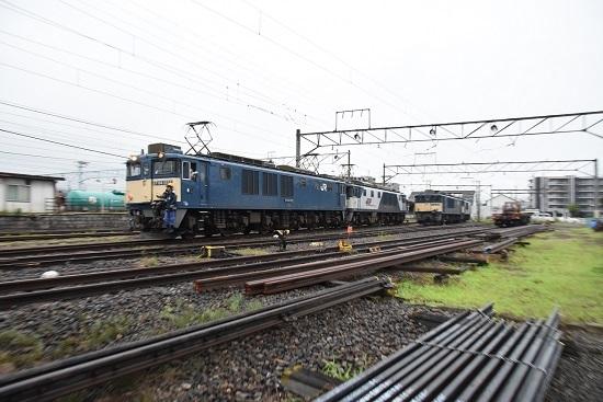 2020年7月18日撮影 南松本にて篠ノ井線8467レ機回し開始