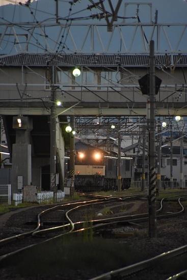 2020年8月29日撮影 南松本にて 篠ノ井線8467レ ライト点灯