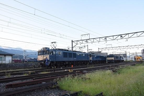 2020年8月29日撮影 篠ノ井線8467レ 機回し 発車