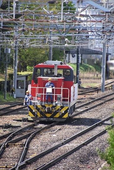 2020年5月5日撮影 南松本にて HD300-10号機 機回し中