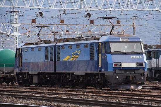 2020年11月7日撮影 南松本にて EH200-5号機 JRFマーク無し