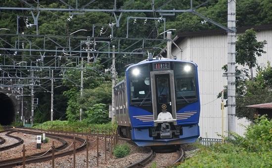 2020年7月18日撮影 しなの鉄道 6602M SR-1系 S101編成 軽井沢リゾート2号