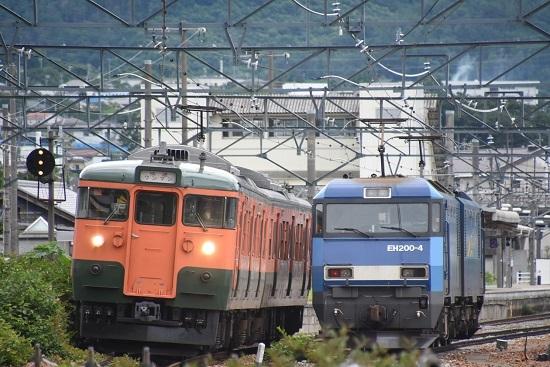 2020年7月18日撮影 しなの鉄道 2603M S25編成 ミニ湘南色