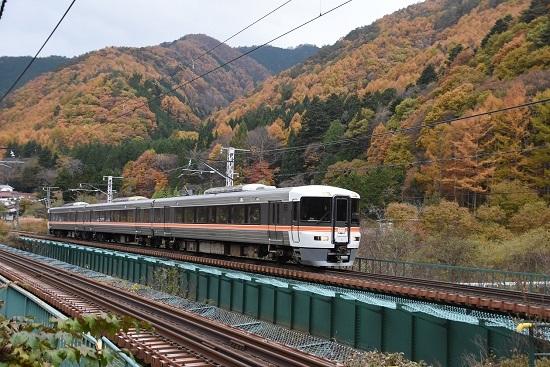 2020年11月7日撮影 中山道トレイン 宮ノ越→薮原