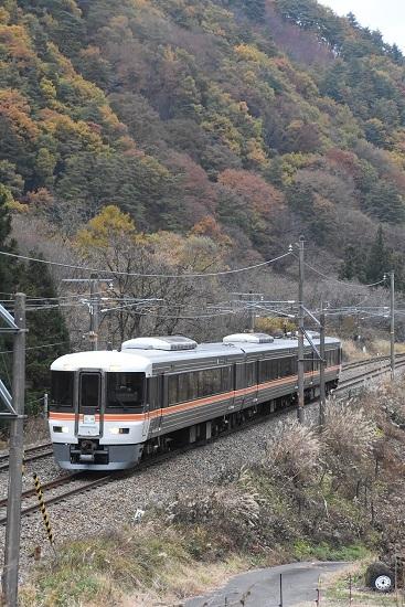 2020年11月7日撮影 中山道トレイン 原野→木曽福島