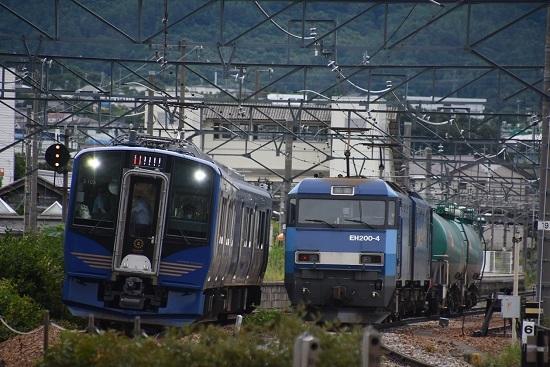 2020年7月18日撮影 しなの鉄道 6601M SR-1系 S103編成 軽井沢リゾート1号