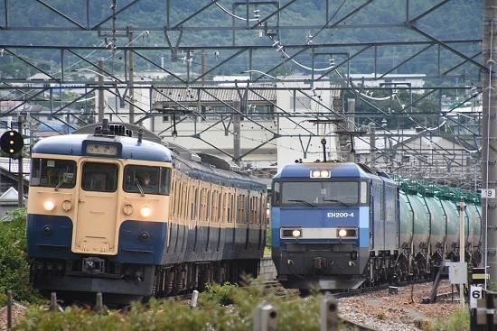 2020年7月18日撮影 しなの鉄道 2635M 115系 S16編成 スカ色