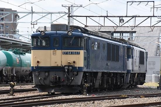2020年5月6日撮影 南松本にて お休み中のEF64-1037号機 原色