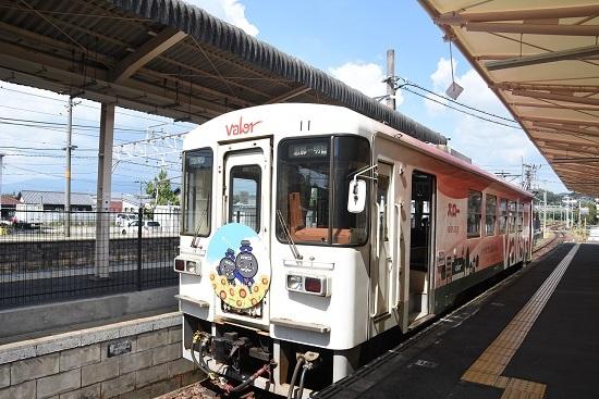 2020年8月30日乗車 恵那駅にてアケチ11