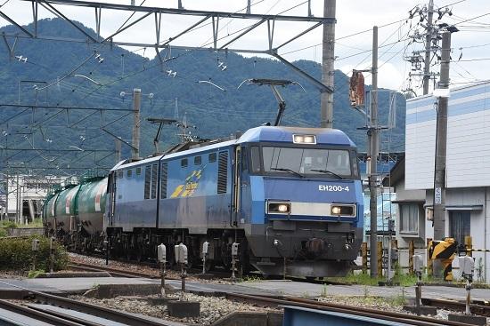 2020年7月18日撮影 しなの鉄道 坂城貨物85レ EH200-4号機JRFマーク無し