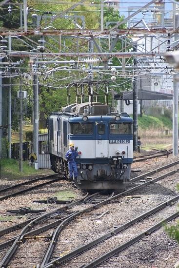 2020年5月6日撮影 南松本にて 西線貨物8084レ 機回し その1