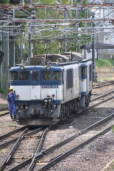 2020年5月6日撮影 南松本にて 西線貨物8084レ 機回し その2