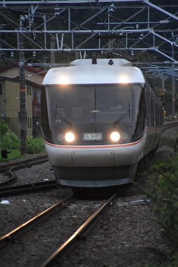 2020年8月30日撮影 奈良井駅にて1015M 383系「WVしなの15号」