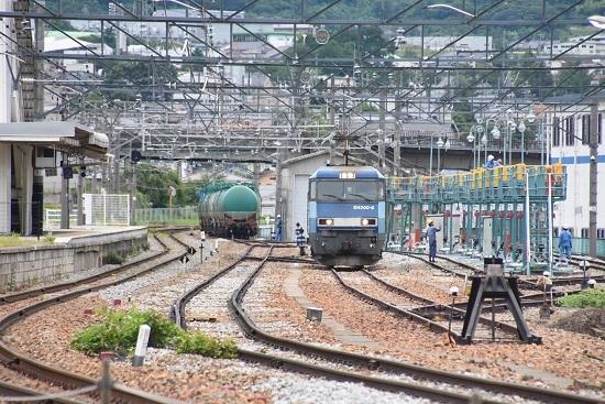 2020年7月18日撮影 坂城貨物5774レ EH200-8号機