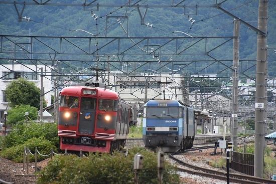 2020年7月18日撮影 しなの鉄道 115系S27編成 回送