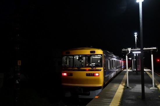 2020年10月18日撮影 試9783D 早朝の伊那新町駅にてキヤ95 DR1検測