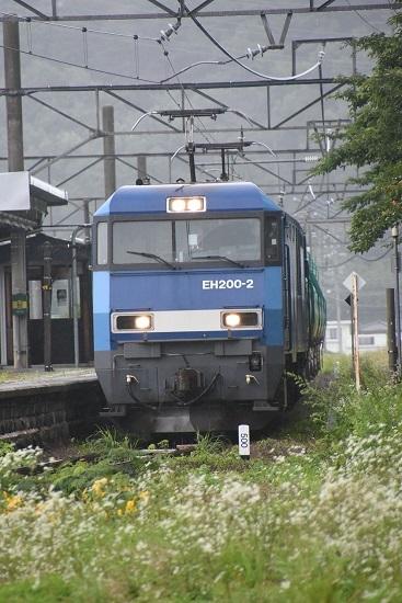 2020年7月18日撮影 篠ノ井線2084レ EH200-2号機 西条駅