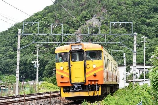 2020年7月25日撮影 しなの鉄道 115系台湾色