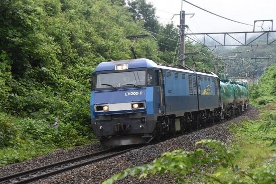 2020年7月18日撮影 篠ノ井線2084レ EH200-2号機 JRFマーク無し
