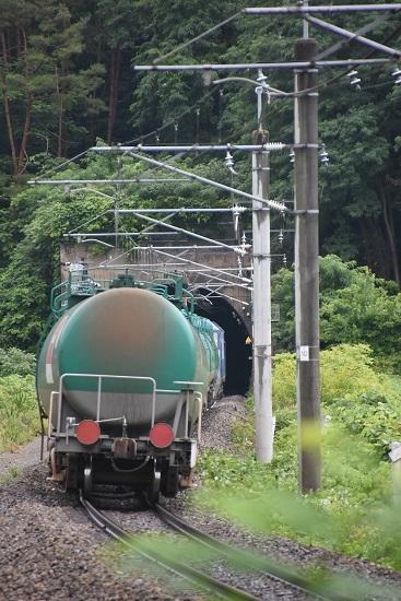 2020年7月18日撮影 篠ノ井線2084レ EH200-2号機 緑タキ