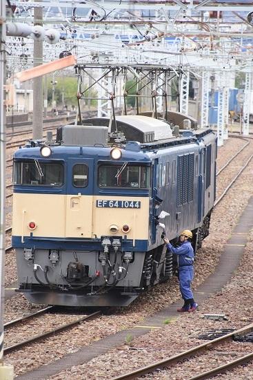 2020年5月9日撮影 南松本にて 西線貨物8084レ 機回し 無線機渡し