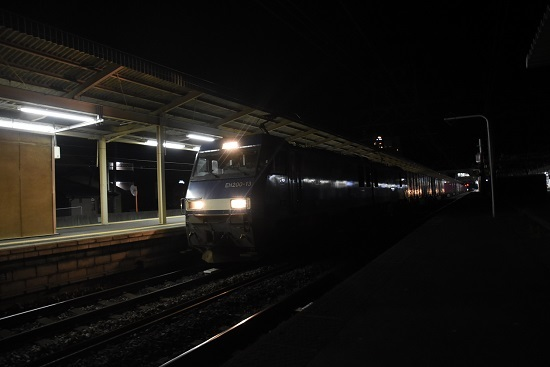 2020年11月17日撮影 東線貨物89レ EH200-13号機