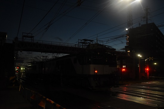2020年9月12日撮影 南松本にて西線貨物6089レ 機回し