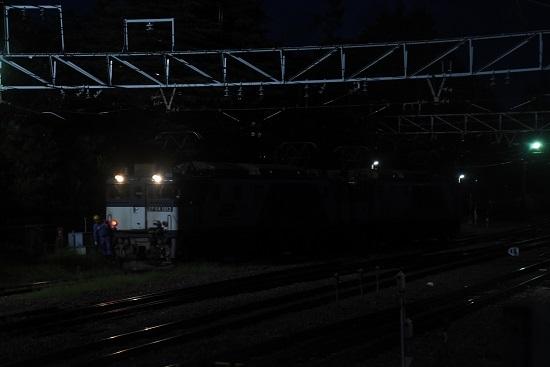 2020年9月12日撮影 南松本にて西線貨物6089レ 機回し その2