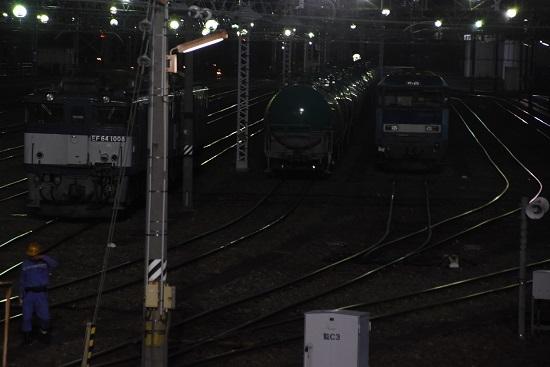 2020年9月12日撮影 南松本にて西線貨物6089レ 機回し終わり