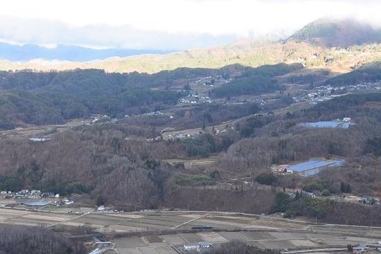 2020年11月21日撮影 坂北大俯瞰と篠ノ井線8467レ
