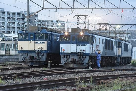 2020年9月12日撮影 南松本にて篠ノ井線8467レ 無線機渡し