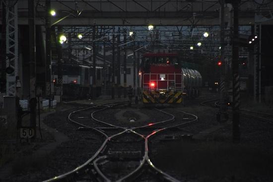 2020年7月25日撮影 南松本にて発車を待つHD300-10号機