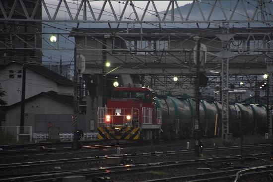 2020年7月25日撮影 南松本にて発車するHD300-10号機