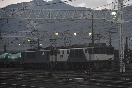2020年7月25日撮影 南松本にて 西線貨物6089レ EF64機仮眠中