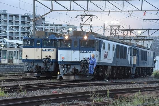 2020年9月12日撮影 南松本にて篠ノ井線8467レ 機回し開始