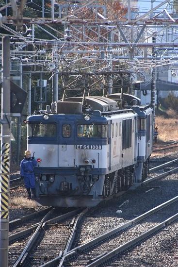 2020年11月21日撮影 南松本にて 西線貨物8084レ 機回し中