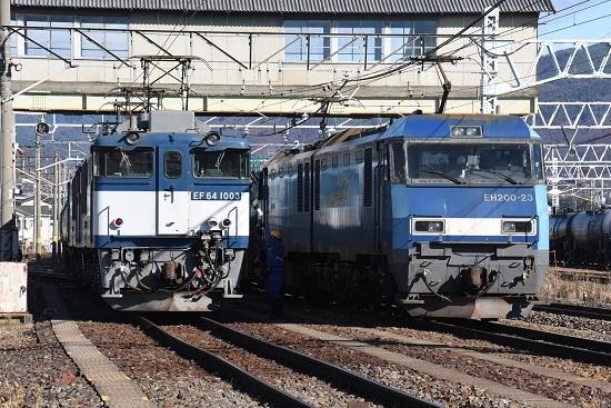 2020年11月21日撮影 南松本にて 西線貨物8084レ 無線機返却