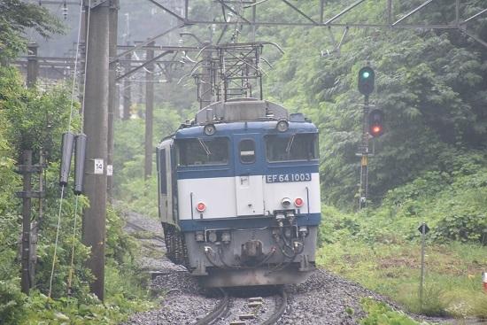 2020年7月25日撮影 篠ノ井線8467レ トンネル出口にて後撃ち
