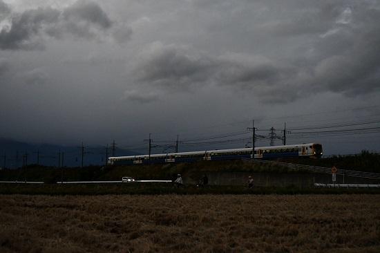 2020年10月24日撮影 篠ノ井線 E257系500番台 9434M イブニングラン信州