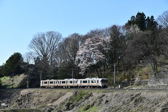 2020年4月11日撮影 飯田線 211M 313系1700番台